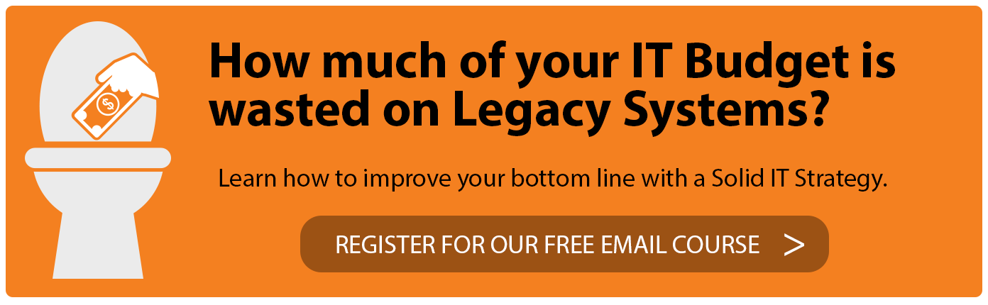 Email Course to improve your bottom line with a solid IT Strategy